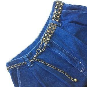 Vintage 90's Chunky Chain Hip Belt